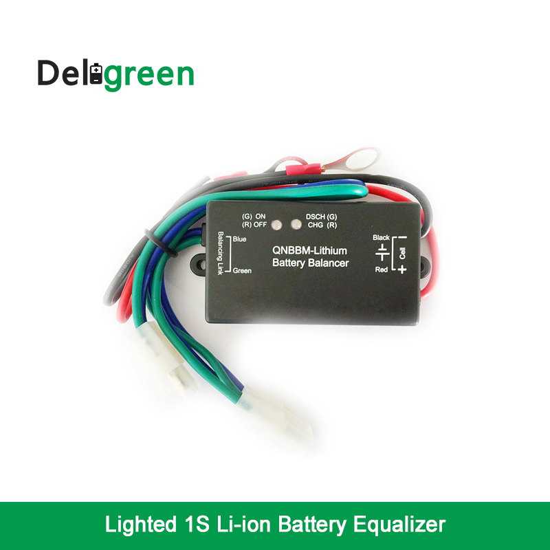 With Led Indicator 1S Battery Equalizer Single Cell Li-ion LiFePO4 LTO NCM  Polymer 18650 DIY Active  BMS Battery Balancer