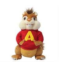 Chipmunks Alvin Soft Stuffed Animal Doll Small Brinquedos Kids Toys Birthday Christmas Gift