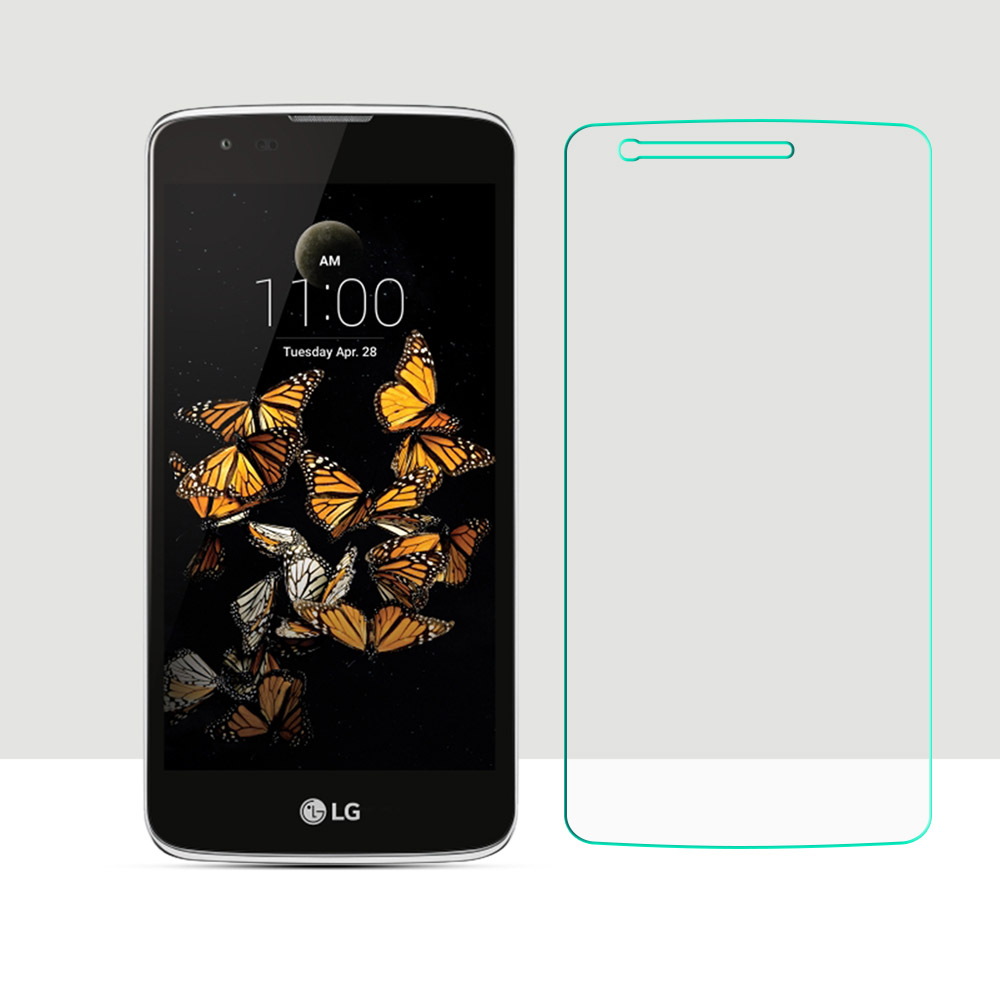 2.5D 0.2mm Premium Tempered Glass For LG K8/Phoenix 2/Escape 3 Screen Protector Screen Protective Film for LG K8 HD Clear Glass