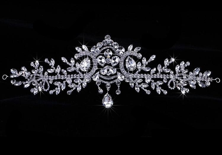 Άγγελος Rhinestone Γάμος Αξεσουάρ Μαλλιών - Κοσμήματα μόδας - Φωτογραφία 4