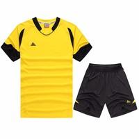 New Arrival Kits Survetement De Foot Cheap-Soccer-Uniform Training Suit Kids DIY Print Customized Name Team Football Jerseys