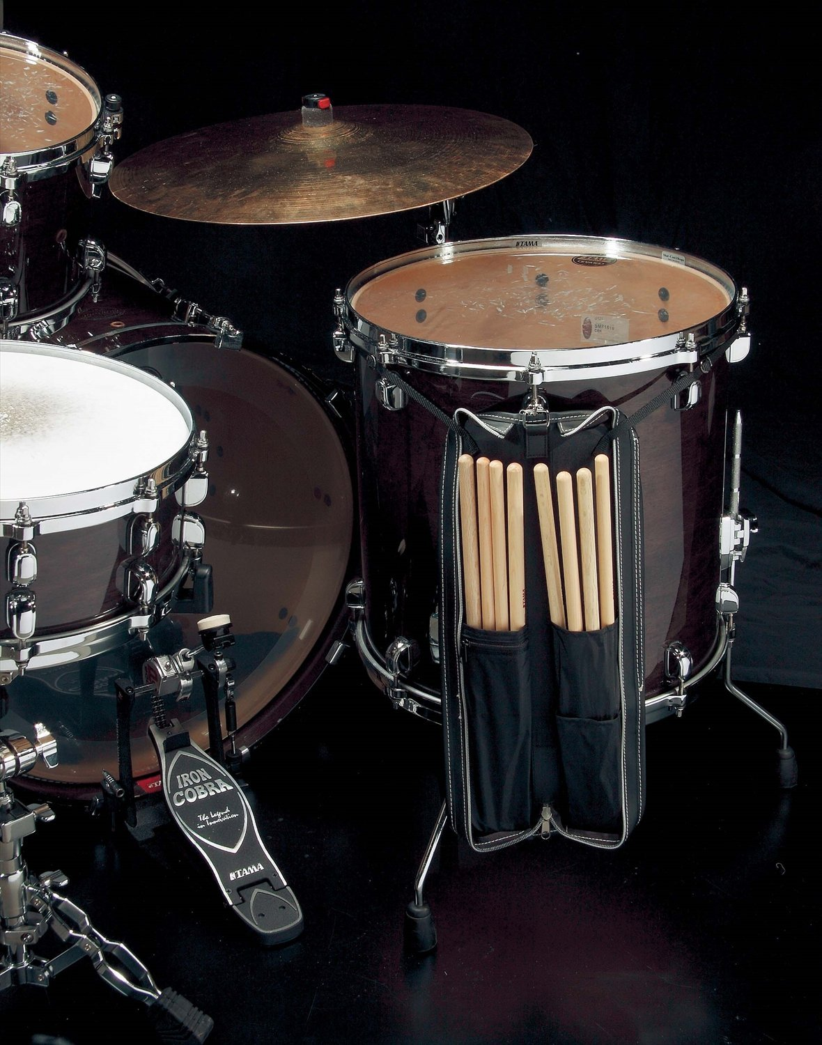 Tama LZ Series Leather-like Small Stick Bag, Fit 6 Pairs of Drumsticks small like a1163 2015