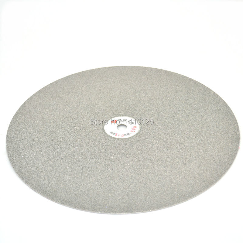 14 inch 350mm Grit 80 Coarse Electroplated Diamond coated Flat Lap Disk Grinding Polishing Wheel for Jewelry Glass Rock Ceramic 4 inch 6 inch straight cup diamond grinding wheel for glass edger straight line double edging beveling machine m009