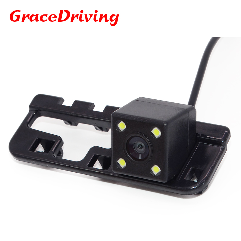 Best day night vision Car Reversing,Car Reverse Camera for Honda Civic 08 /10 1pcs rear view camera Free Shipping image