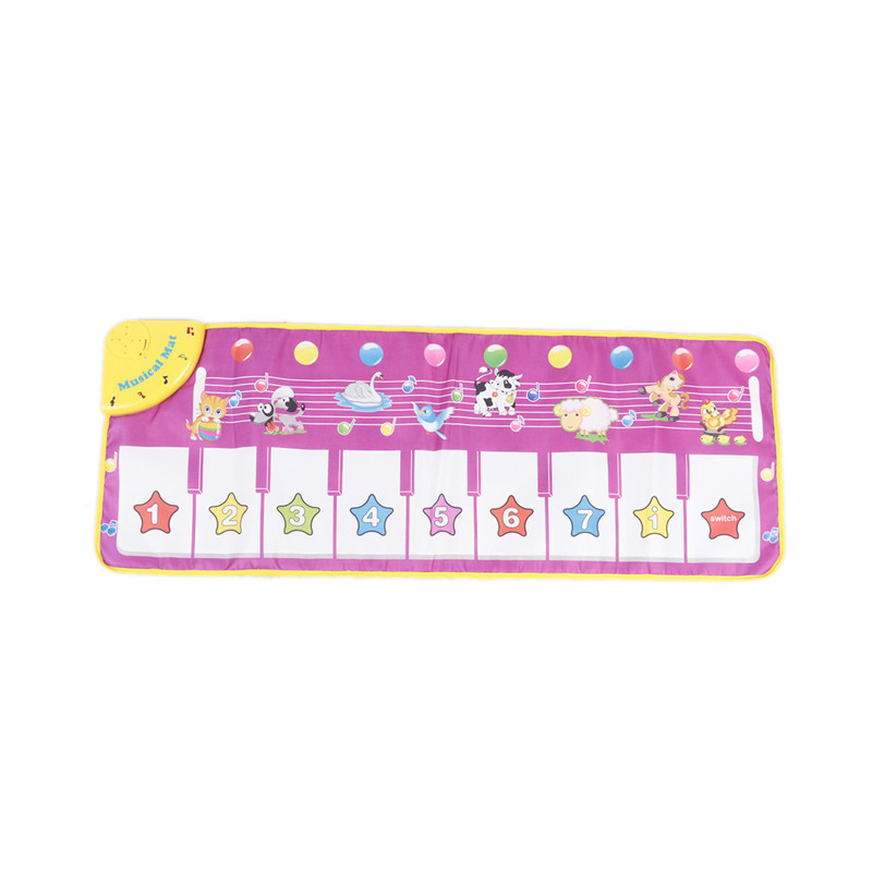 100*36cm Comfortable Soft Baby Girls Boys Music Carpet Mat for Kids Children Learning Educational Piano Toys Musical Instrument