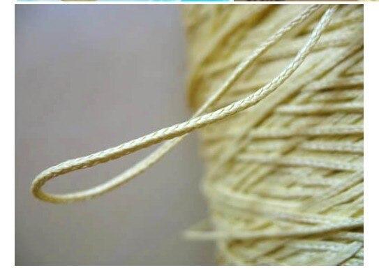 Free Shipping 1000M 200LB aramid braid kitesurfing line aramid rope 6 strand high tempreture resistant 1.4mm