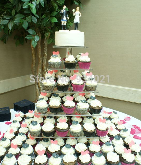 how to make a wedding cake stand out of styrofoam free shipping cake stand 6 tier acrylic cake 15898