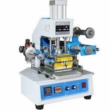 Пневматическая машина для горячего тиснения 116*120 мм для печати области печати кожи логотипа штамплер принтер ZY-819E