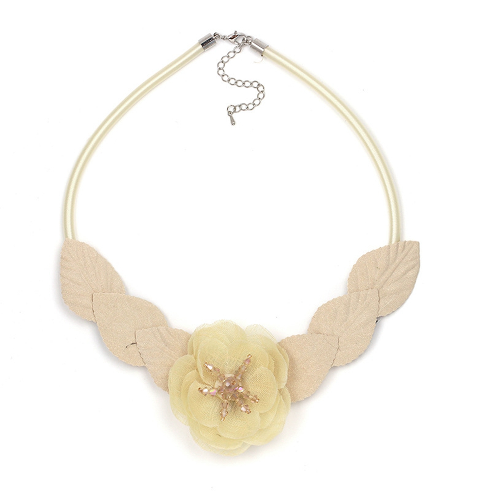 FUNIQUE Fashion Jewelry Flower Necklace Cross-border E-commerce Merchandise Fashion Personalized Necklace For Women Party
