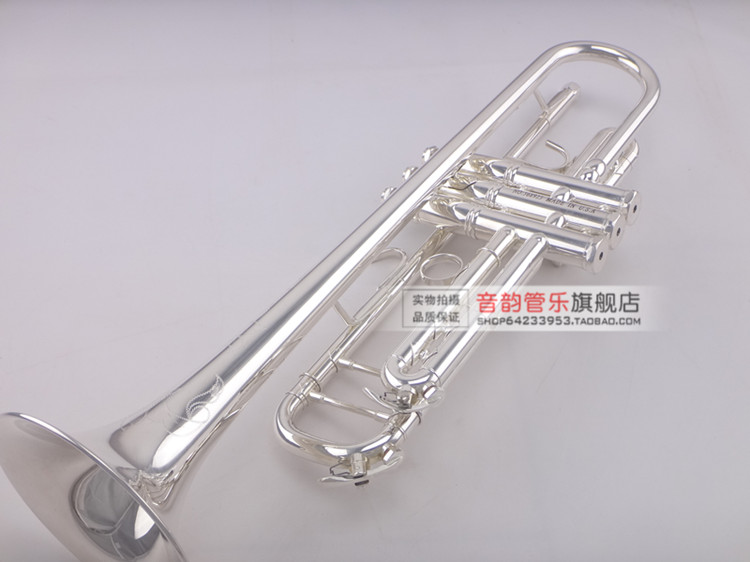 цена на MIDWAY MTR-501 Professional Trumpet Stainless Steel Type Trompeta Brass Instruments Silver Plated Carved Bb Trumpete