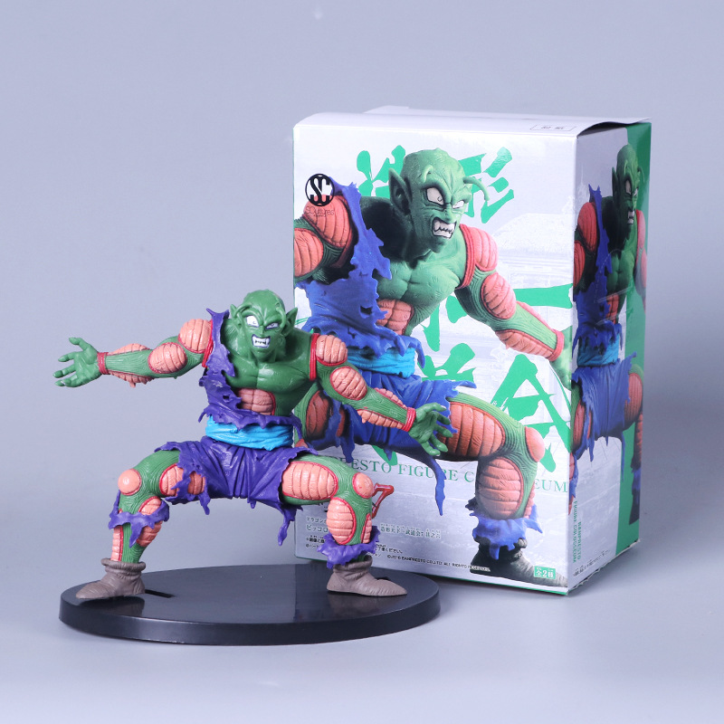 Dragon Ball Z 13CM Piccolo Super Saiyan Son Gohan Hercule Mark Piccolo PVC Action Figure Broly Son Goku Dragonball Model Toys