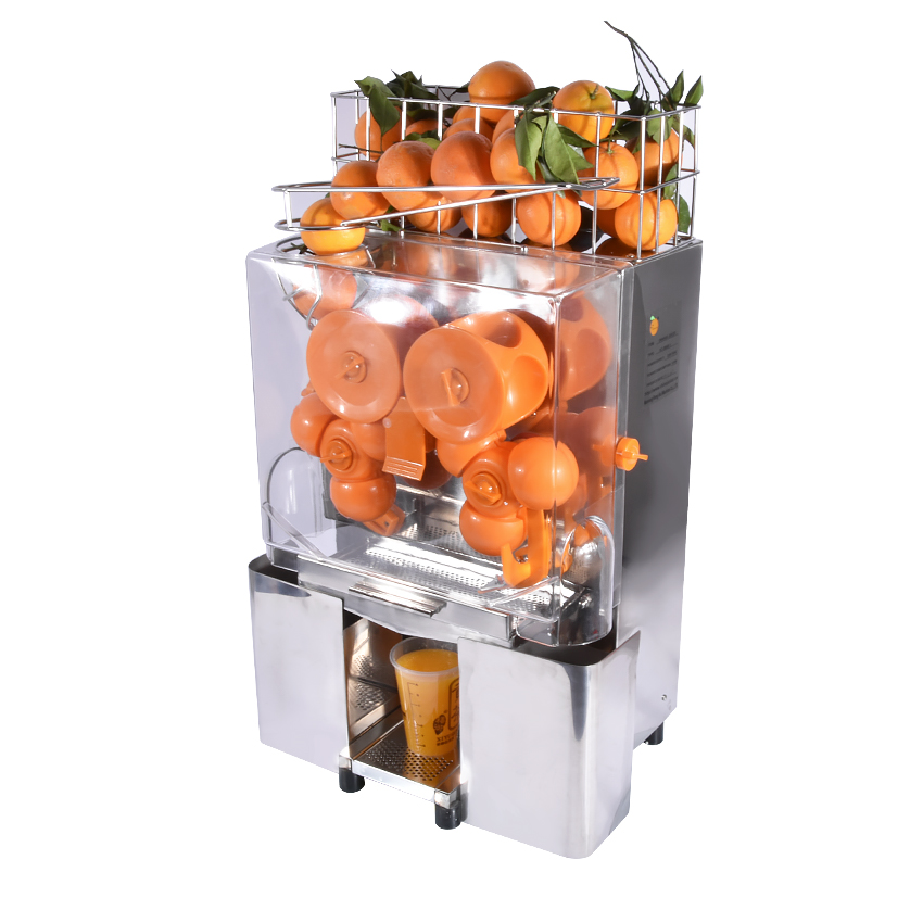 Automatic Orange Juicer Machine/Commercial Orange Juice Extractor/Stainless Steel Electric Citrus Juicer Machine 110V OR 220V 10oz stainless steel 110v 220v electric commercial popcorn machine with temperature control
