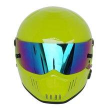 fast delivery universal long battery life, Bluetooth version Bluetooth stereo helmet full face motorcycle helmet ATV-6 lemon