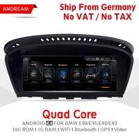 8,8 4 ядра Android автомобиля мультимедийный плеер для серии BMW 3 E90 E91 E92 E93 M3 gps навигации Wi Fi Германии доставка EW963A