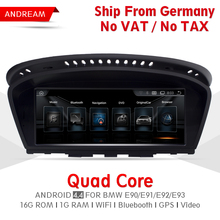 8.8″ Quad Core Android 4.4 Vehicle multimedia player For BMW Series 3 E90 M3 Bluetooth gps navigation Wifi Germany Ship EW963A