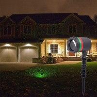 Christmas Outdoor Sky Star Laser Projector Garden Lawn Landscape Shower Lamps Stage R G DJ Disco