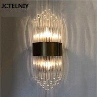 Современный кристалл белый настенный светильник количество e14 vanity light Настенный светильник вверх вниз