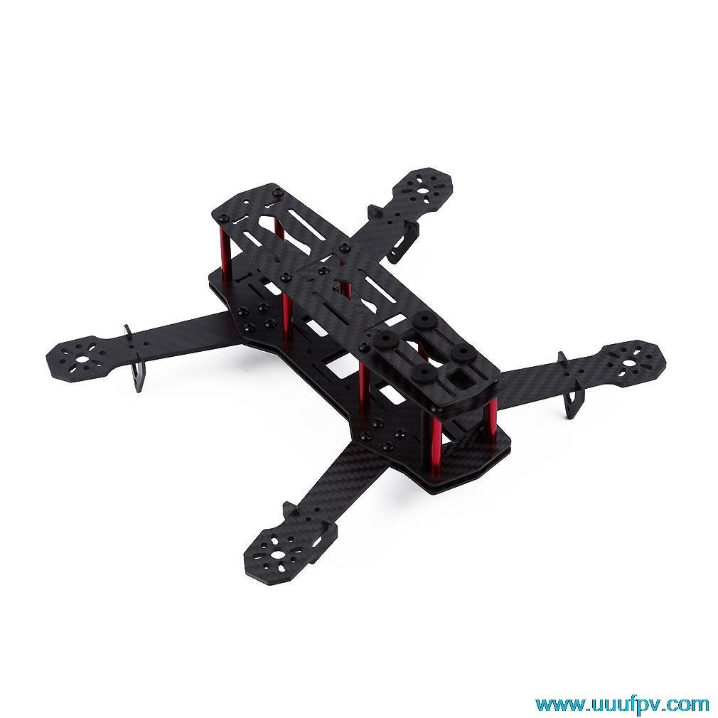 Высокое качество FPV-системы Quadcopter Рамки Мини 250 Quad Рамки Держатель Углерода Волокно Mini 250 для zmr250 qav250 для 250 (в разобранном виде)