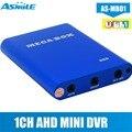 AHD 720P 1CH Мини DVR Поддержка 1.3MP ahd купольная система kamepa OEM заказ приемлемый