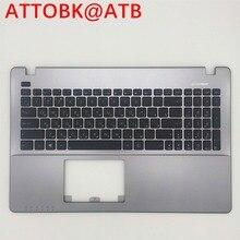 Русский Клавиатура для ноутбука ASUS X550CC X550CL X550J X550JD X550VA X550LC X550LB X550LC X550L topcase клавиатура с крышкой