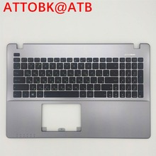 Teclado Do Laptop russa para ASUS X550CC X550CL X550J X550JD X550VA X550LC X550LB X550LC X550L topcase teclado com tampa