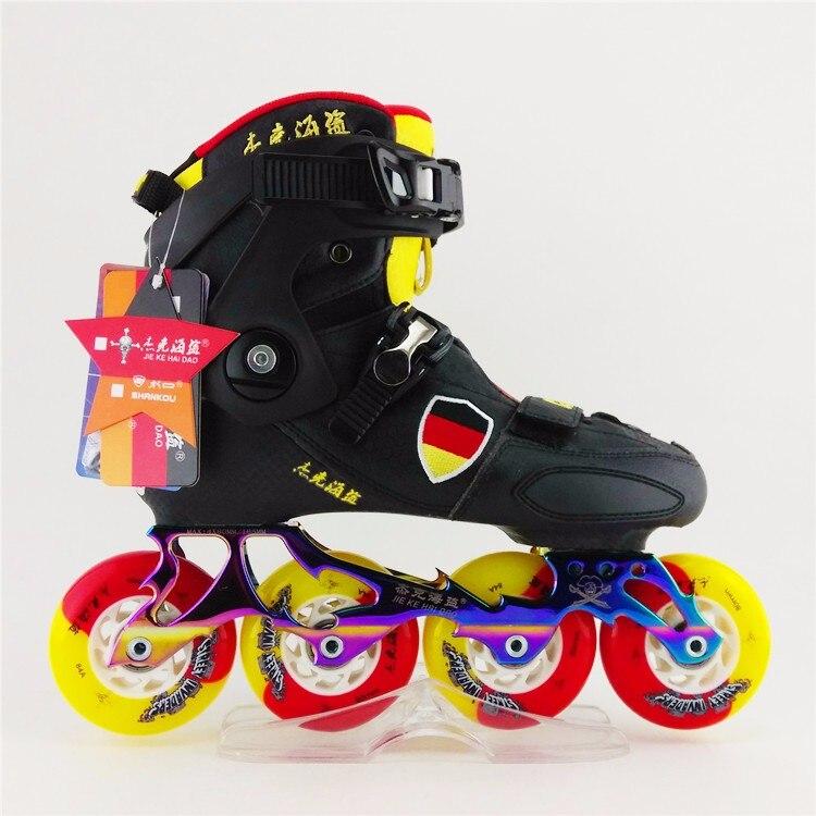 Haute qualité Freeline roller Skate adulte chaussures de patinage en ligne débutant chaussures de patinage à roulettes Fitness chaussures Slalom