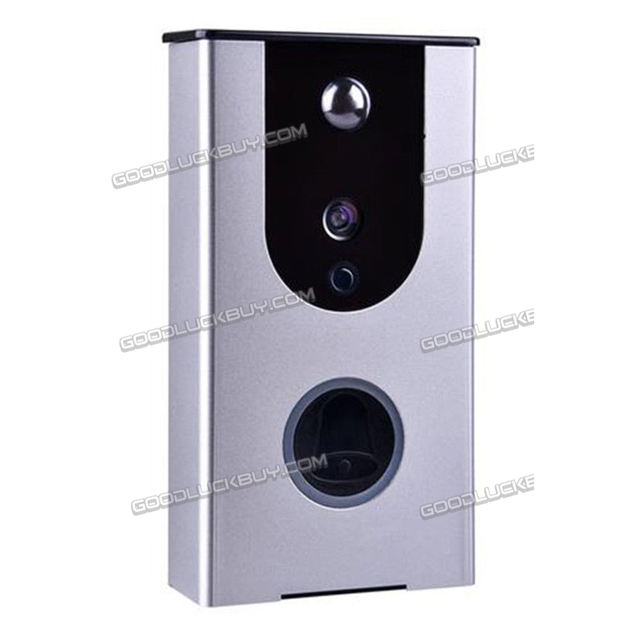 Smart Wireless Ring DoorBell WiFi Visual Camera Phone Door Alarm Home Monitor