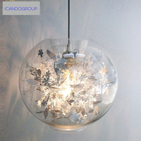 ICD60013 Modern Minimalist Glass Ball Lighting Bedroom American Style Creative Arts Living Room Light Dining Room