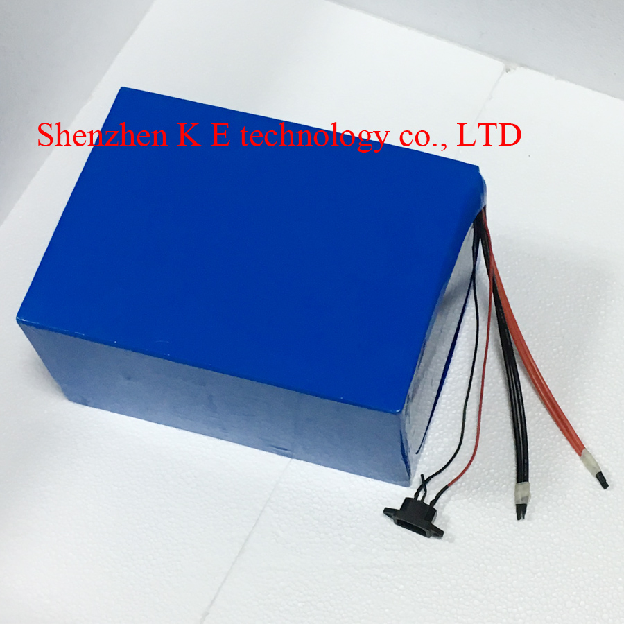 Great electric bike battery 96v 20ah Samsung cell lithium ion for 1000w 1500w 2000w 3000w motor e bike scooter kit + charger ebike lithium battery 60v 25ah lithium ion bicycle 60v 3000w electric scooter battery for kit electric bike for samsung cell