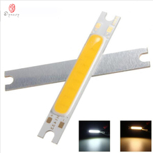 50Pcs/Lot LED COB 240-270LM 3W Strip DIY Light Source DC10-12V L48*W7*H3mm Wholesale High Lumen Super Bright Free Shipping