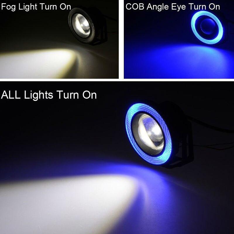 Անջրանցիկ պրոյեկտոր LED ոսպնյակներ Halo - Ավտոմեքենայի լույսեր - Լուսանկար 5