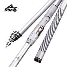 Cheap price DOAO Rock Fishing Rod 3.6-7.2M High carbon Super Hard Telescopic Fishing Rod for Big Fish Baitcasting Rod Sea Rod Medium Fast