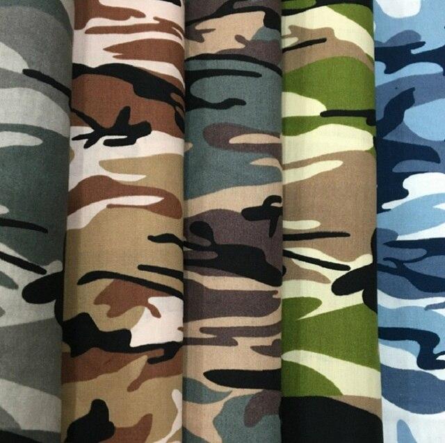 Camouflage Print Baumwolle Tuch Camo Baumwolle popeline diy nähen ...