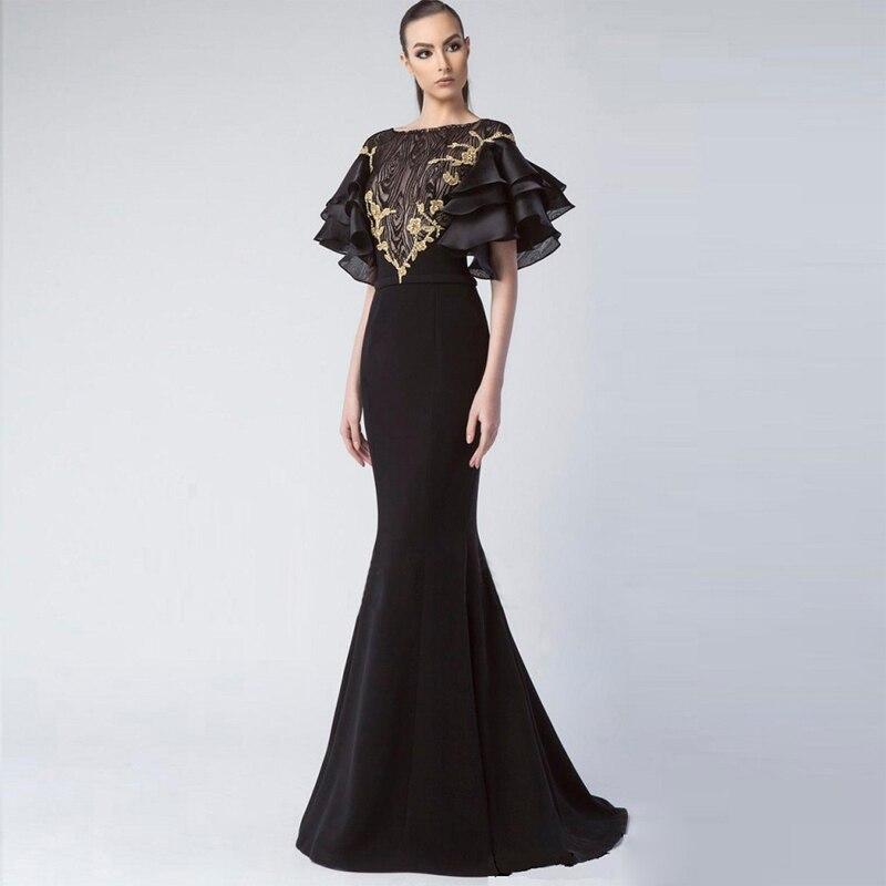 2018 Nouvelle Mode Chic De Luxe Élégant Sans Manches Party Celebrity Robe Femmes Robe En Gros Robes Fille Pageant Robes Longues