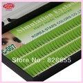 Tow linhas de cílios Maquiagem Cílios 0.15mm C Onda Extensão eye lashes Natural Longo Falso Falso Cílios Individuais naturais