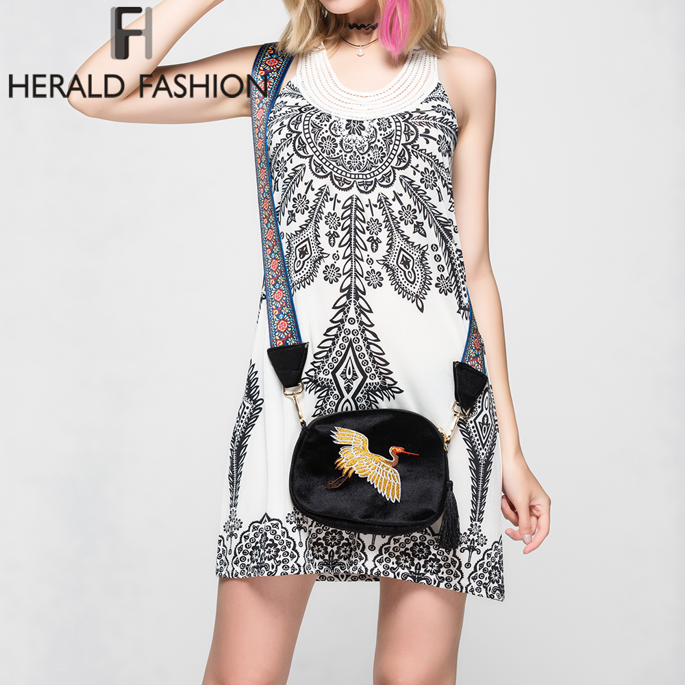 Fashion Embroidery Fashion Shoulder Bags Vintage Cross body Bag