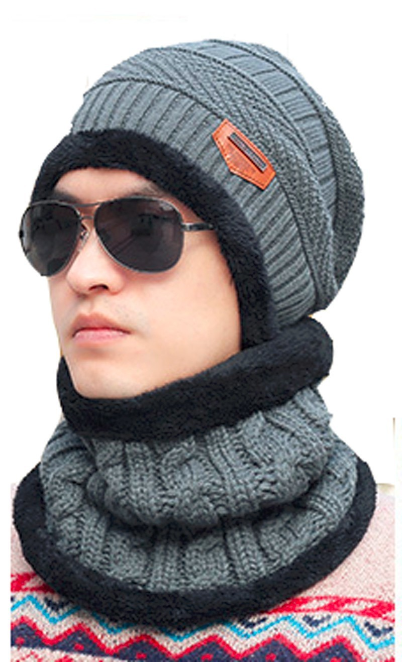 New Arrivals Fashion Outdoor Hats Men Winter Warm Women Hat and scarf Set hooded Earmuffs Knitted Caps beanie Balaclava Ski Cap aetrue winter knitted hat beanie men scarf skullies beanies winter hats for women men caps gorras bonnet mask brand hats 2018