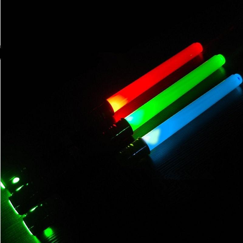 Boy Girl Gift Light Stick Luminescent Music Telescopic Star Laser Sword Lightsaber Cosplay Props Children 39 s Flashing Toys in Light Up Toys from Toys amp Hobbies