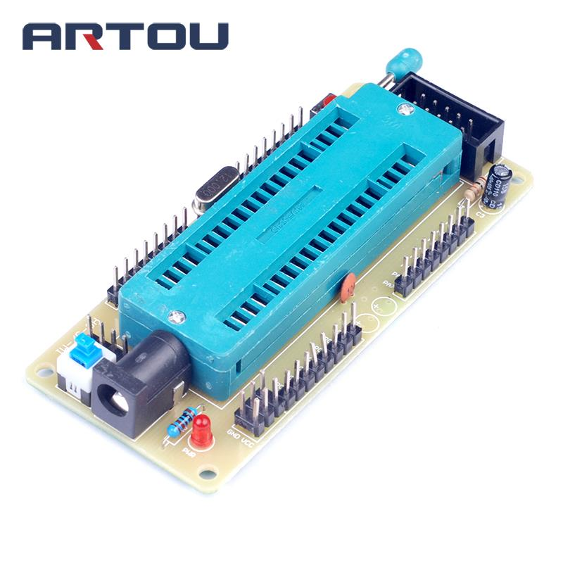Diy ATmega16 <font><b>ATmega32</b></font> ISP I/O Minimum System Development <font><b>Board</b></font> AVR Mini System Module (NO Chip) image