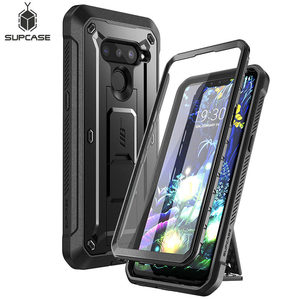 Image 1 - For LG V50/LG V50 ThinQ 5G Case 2019 SUPCASE UB Pro Heavy Duty Full Body Rugged Holster Cover with Built in Screen Protector