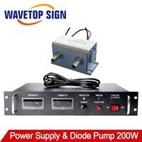 1064nm 200 Вт высокое Мощность диодной накачкой 1 шт. + 200 Вт лазерного источника питания GTDC4235 1 шт.