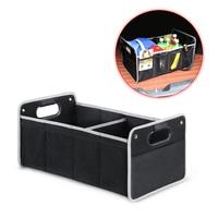 Car Oxford Cloth Car Folding Trunk Storage Box Glove Compartment Organizer