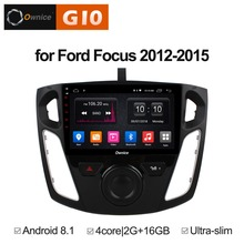 цена на 2GB RAM+16GB ROM Android 8.1 Quad 4Core Car DVD Player For Ford Focus 2012 2013 2014 2015 GPS Navigation Radio Stereo TPMS DAB