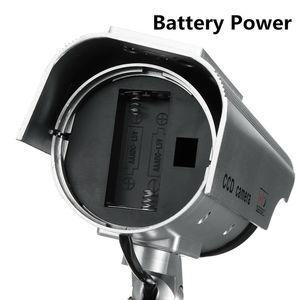 Image 3 - الطاقة الشمسية وهمية وهمية الأمن الأحمر LED CCTV كاميرا بجهاز اقتران الشحنات مراقبة المتغيرات