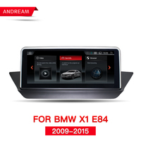 10.25 Quad Core Android 4.4 Car DVD for BMW X1 E84 2009 2015 with WIFI Map GPS Navi Radio iDrive Steering wheel ID6 NBT