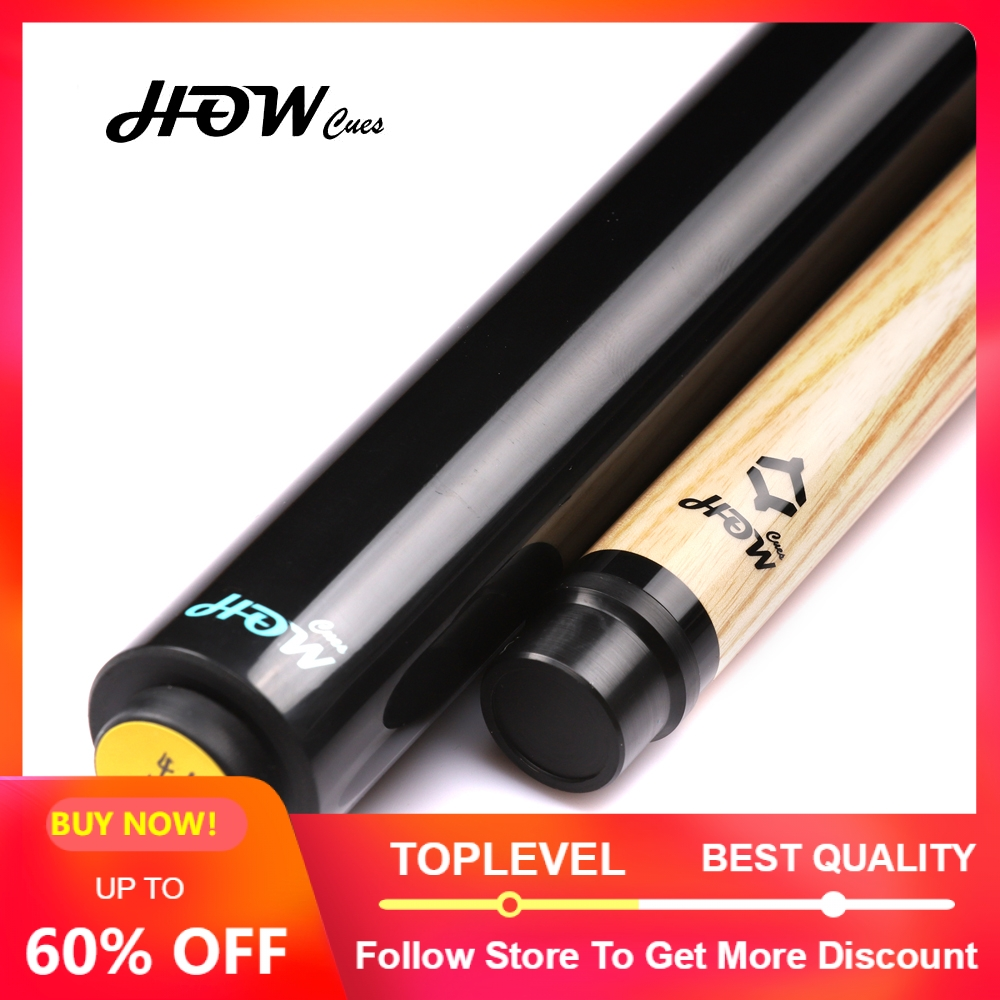 HOW Official Store Original HOW Punch Cue Tip 13mm Billiard Stick Handmade Billiard Pool Punch Cue