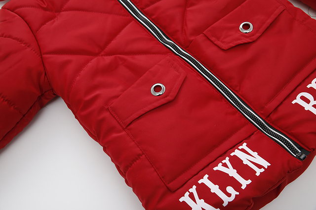 Kids Jacket 2018 Autumn Winter Baby Boys Jacket For Boys Winter Coat Children Warm Outerwear Coat For Boys Cotton-padded Clothes