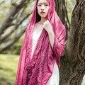 women's fashion winter warm Lace scarf soft Plain Cotton Women Scarves Shawls Long Scarf Ladies present