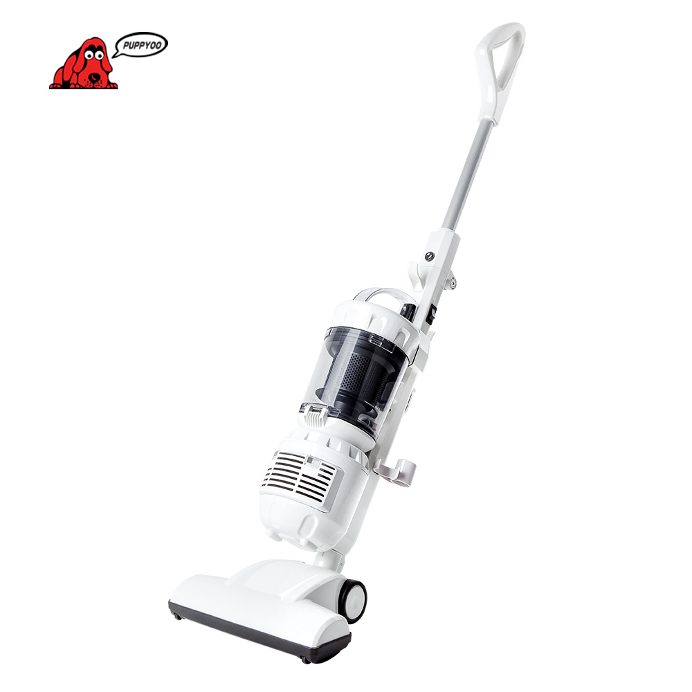 Upright Vacuum Cleaner Home Rod Handheld Vacuum Cleaner Portable Dust Collector Household Aspirator White Color WP3007