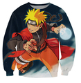 Anime Naruto sasuke homens mulheres dos desenhos animados camisola de impressão 3d hoodies harajuku suam jaqueta S-XXL gota